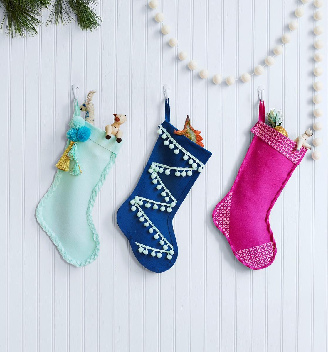 No-Sew Stockings