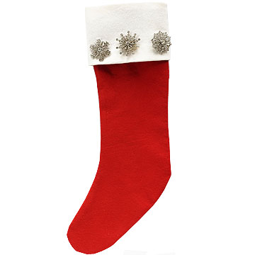 Jeweled stocking