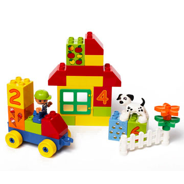 Duplo Play With Numbers