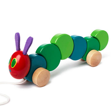 The Very Hungry Caterpillar Wood Pull Toy-1282075025567.xml