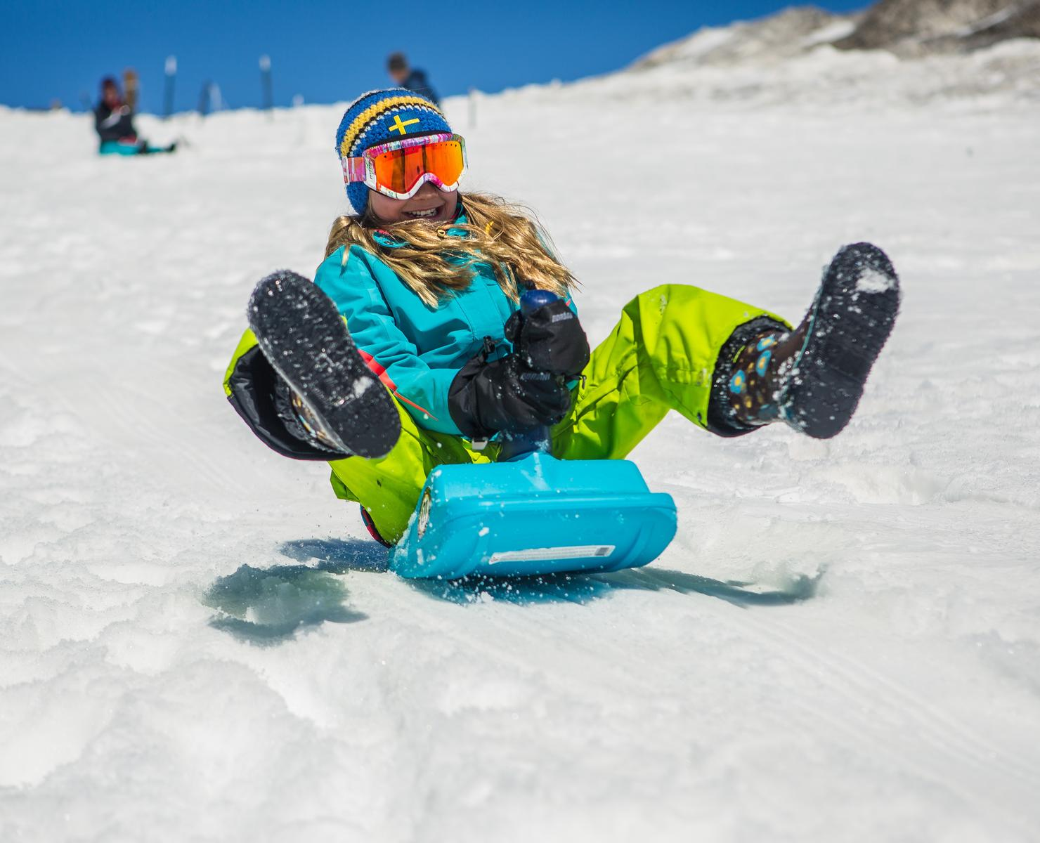 Winter Activities Up Your Sledding Game