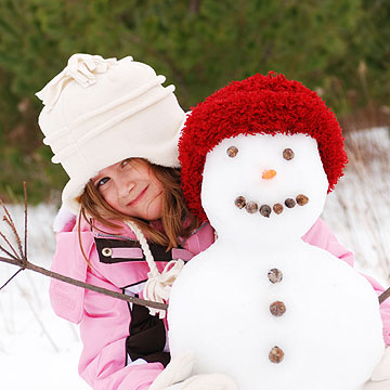 Build a Snap-Happy Snowman