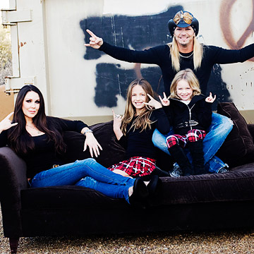 Bret Michaels and Family