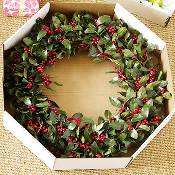 wreath box