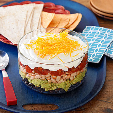 Six Layer Mexican Dip