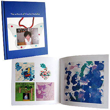 kids art book