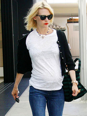 Mad Men's January Jones Names Son Xander Dane 29274