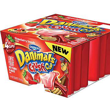 Dannon's drinkable Danimals