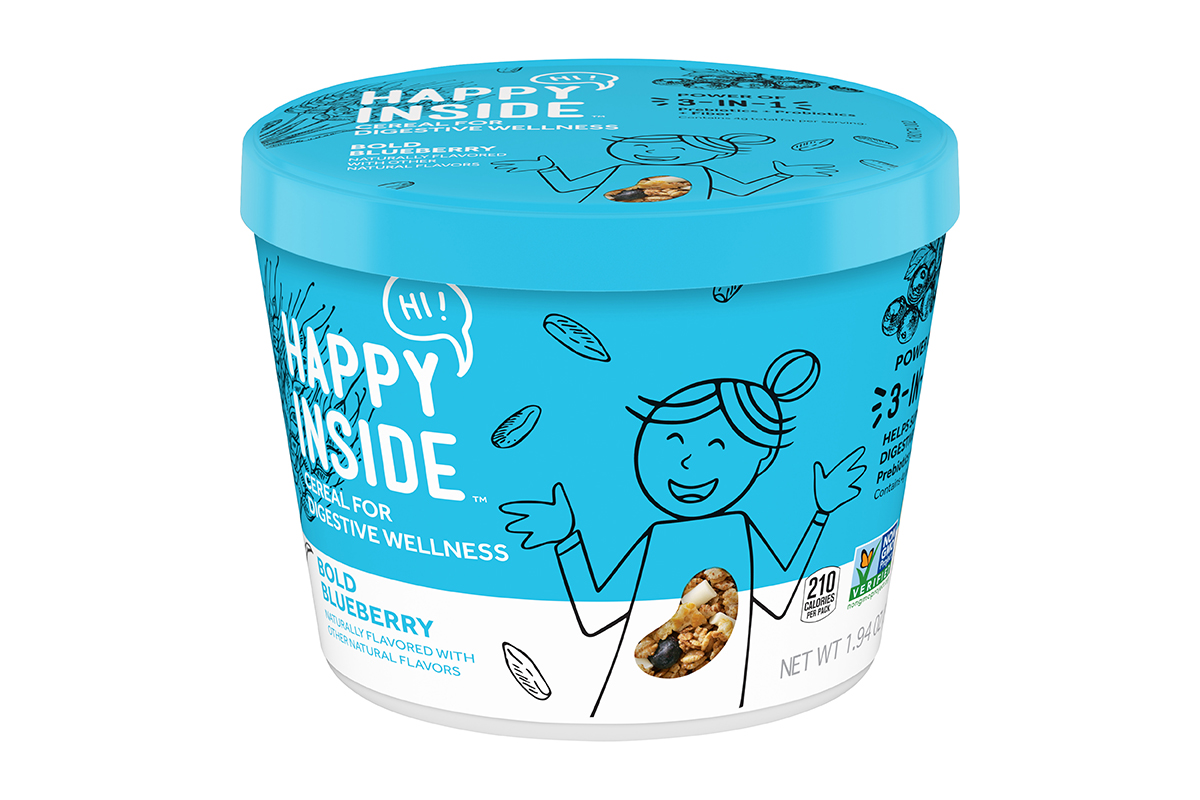 Happy Inside Blueberry Cereal 2019