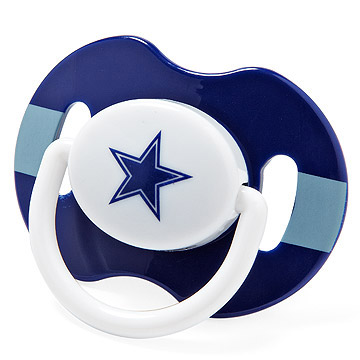 Dallas Cowboys pacifier