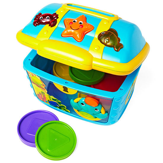 Baby Einstein Count & Discover Treasure Chest