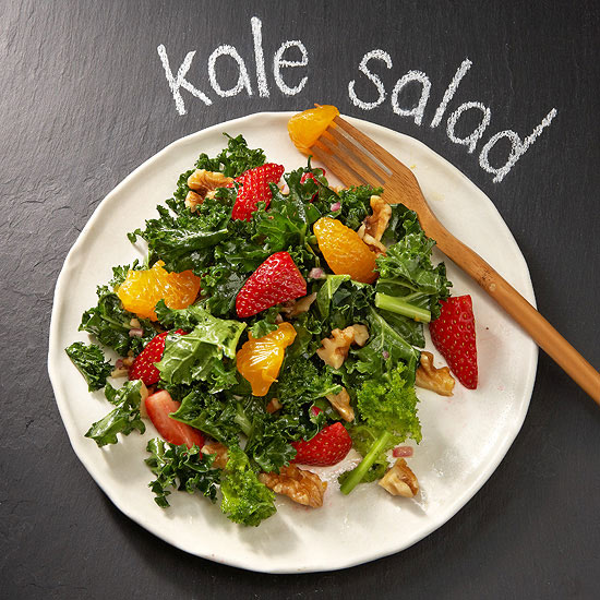 Kale Fruit Salad