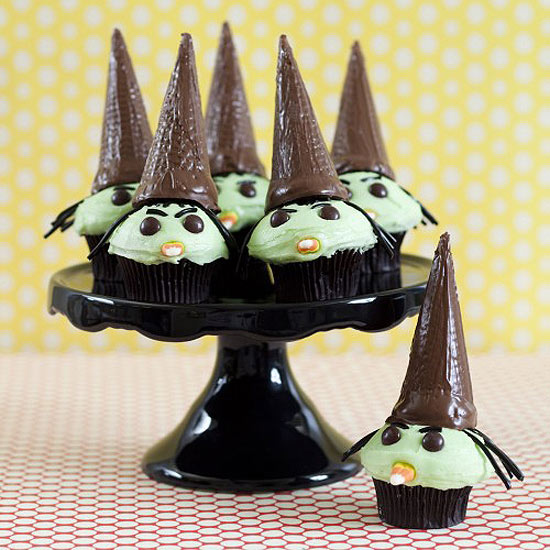 Witchy Cupcakes