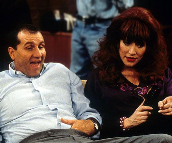 Peggy Bundy (Katey Sagal),  Married With Children