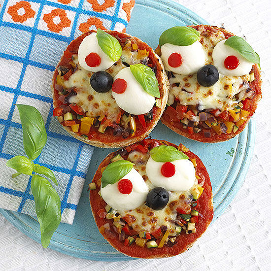 Mini Muffin Pizzas