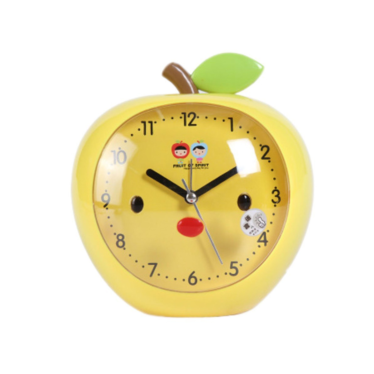 Apple-shaped alarm clock