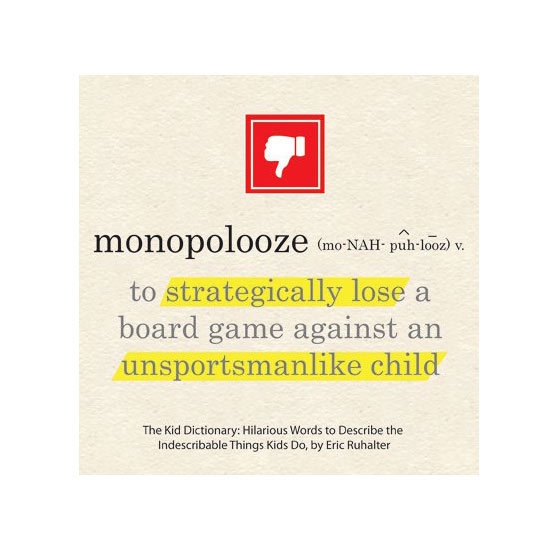 Monopoloozing  makes game night move way faster. Shh...it's our little secret.