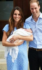 Kate Middleton and Prince William Introduce Prince George 26512