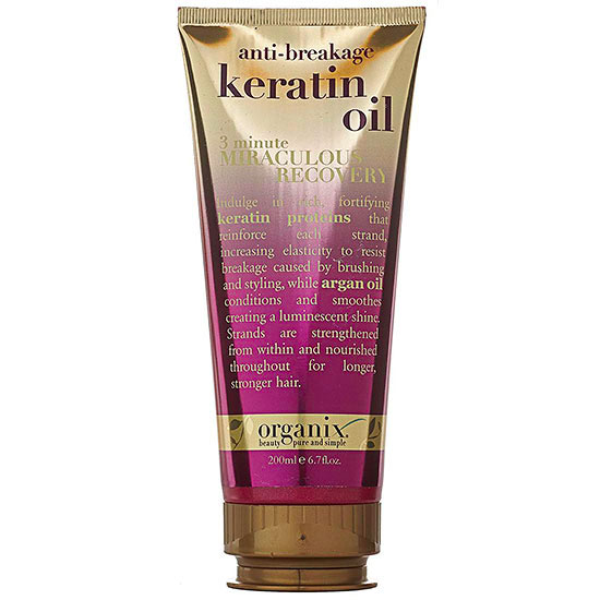 Organix Anti-Breakage Keratin Oil 3 Minute Miraculous Recovery