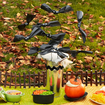 Halloween Decor: Going Batty