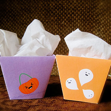Halloween Treat Boxes