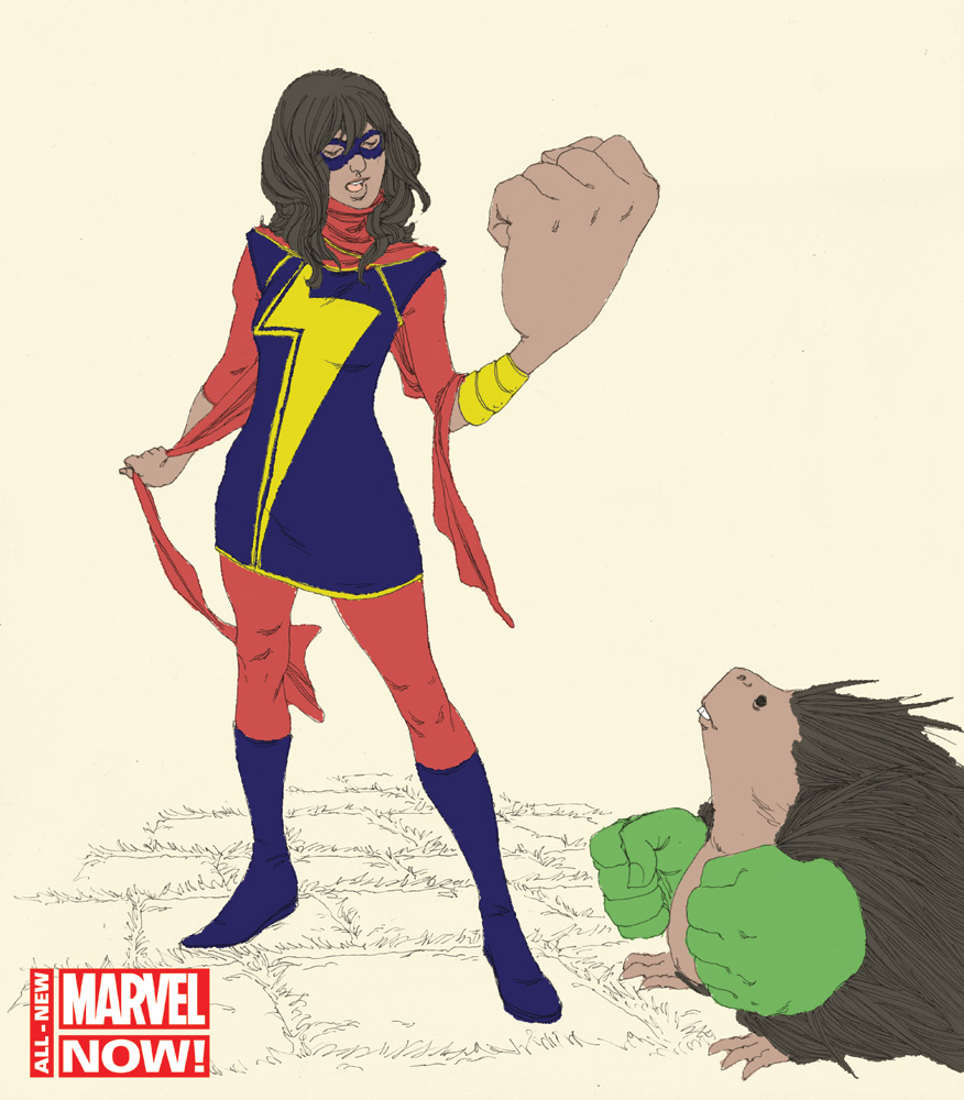 Ms. Marvel superhero Kamala Khan