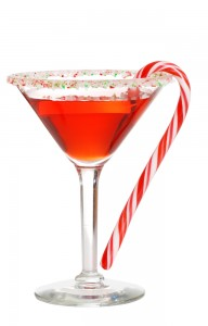 Candy cane mocktail 26594