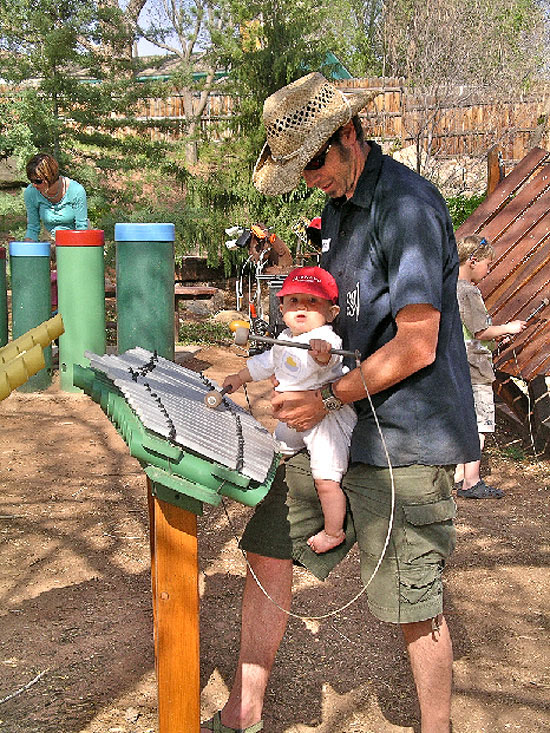Harmony Park Musical Playground in Moab, UT