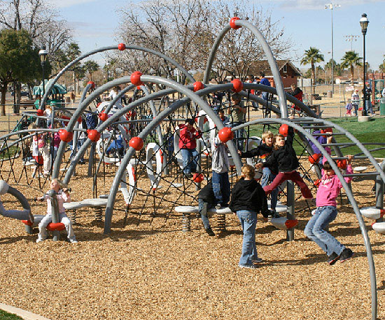 Weevos and Evos Fitness Playgrounds