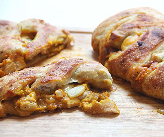 Chicken and Apple Stromboli