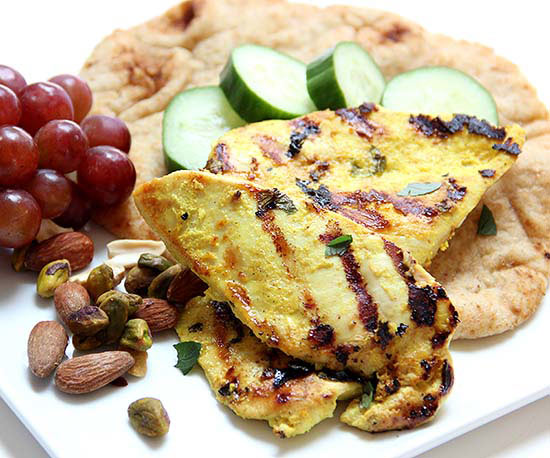 Apricot-Curry Chicken Cutlets
