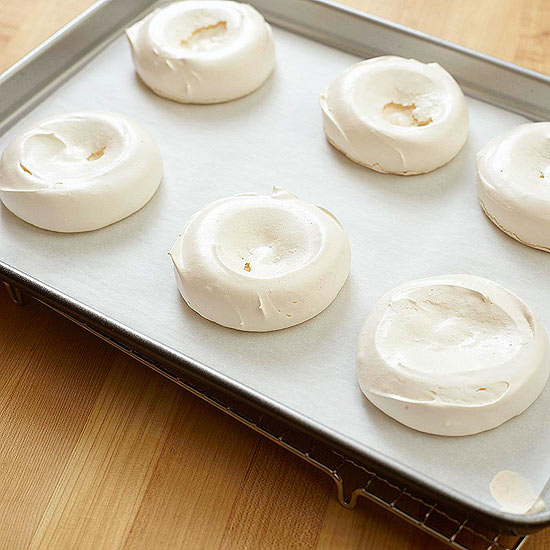 Bake the Meringues