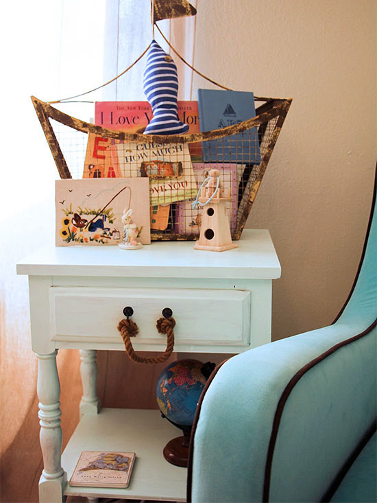 Nautical side table