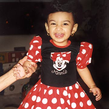 Nirvana As Minnie Mouse