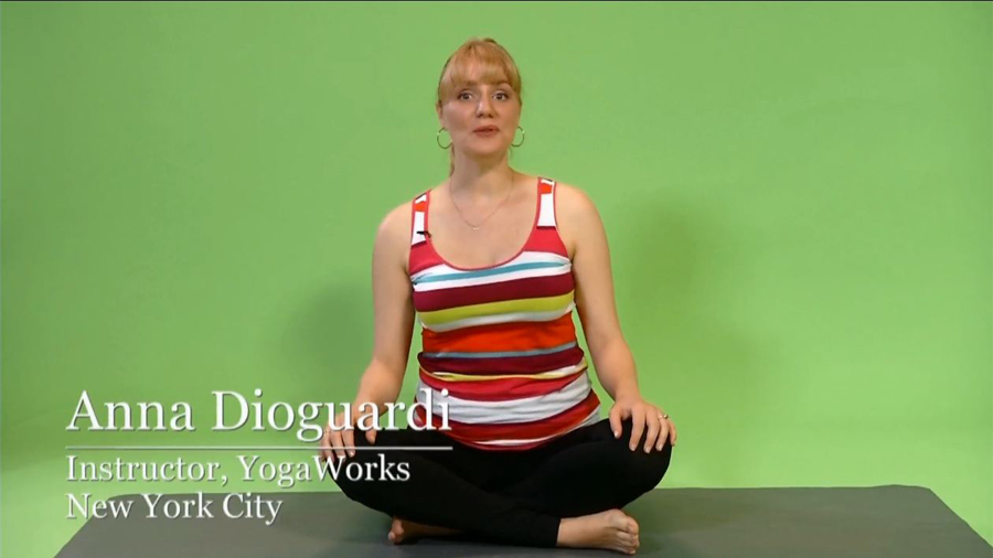 Prenatal Yoga: Sideways Swing