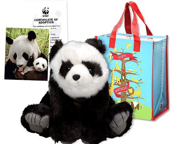 Panda bear stuffed animal – World Wildlife Fund