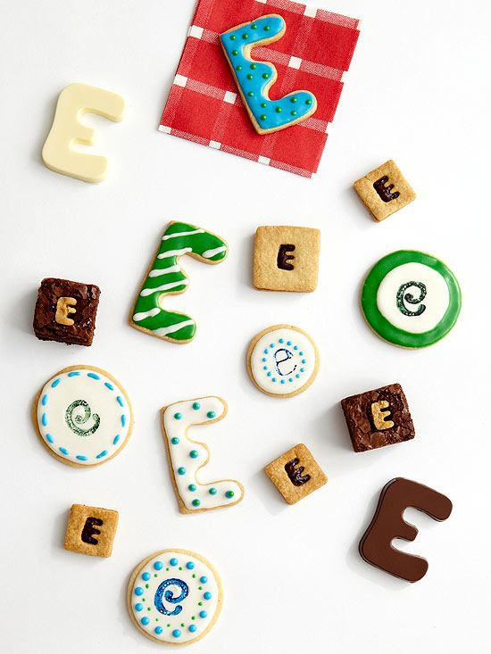 """""""E"""" cookies and candies"""