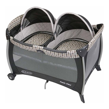 Graco Twins Bassinet Pack 'n Play Playard
