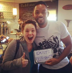 Coolest Pregnancy Announcement Ever—Thanks to Will Smith! 26711