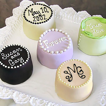Personalized Mini Cheesecakes