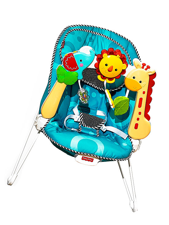 Fisher-Price Sensory Stages bouncer