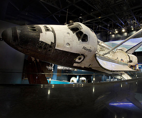 Kennedy Space Center space shuttle Atlantis