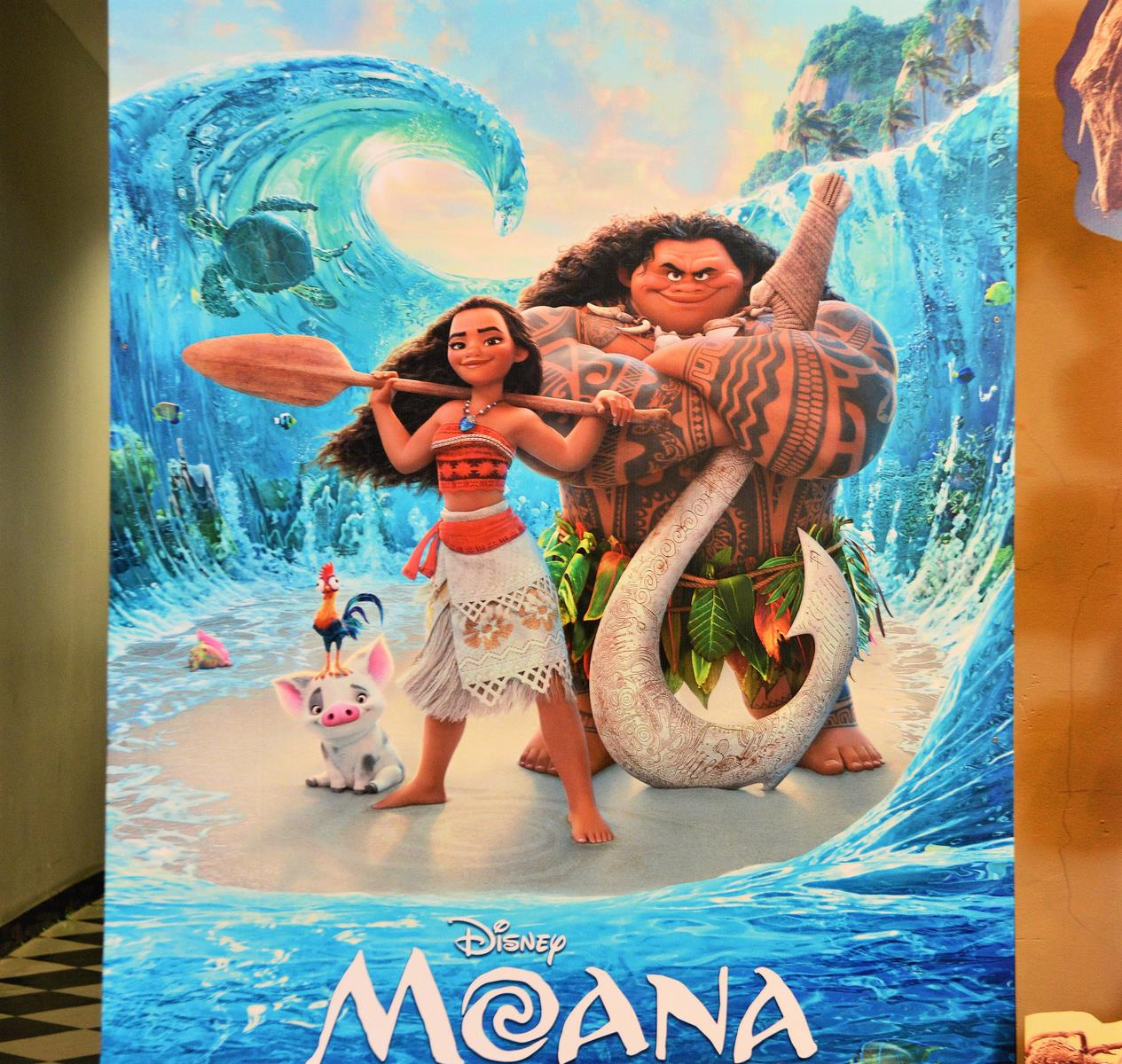 Moana Movie Poster Board