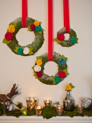 Jolly Flower Wreaths