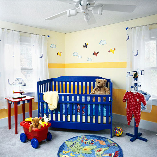 Primary colors nursery