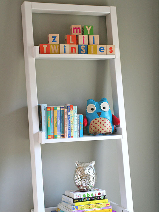 Zajfen nursery bookcase