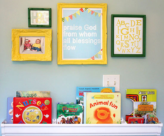 Gus & Lula twins nursery
