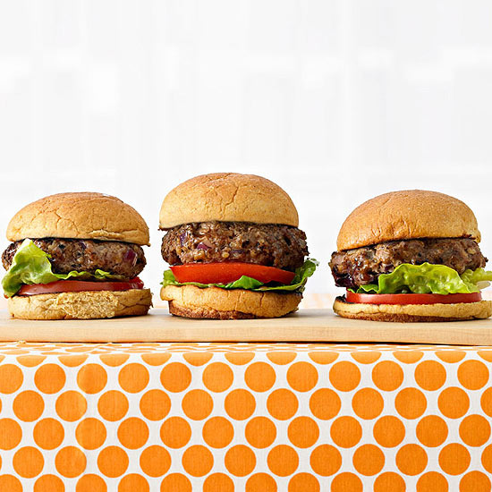 Mini Beef & Bulgur Burgers