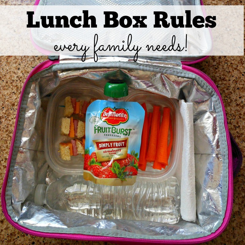 Lunch Box Rules
