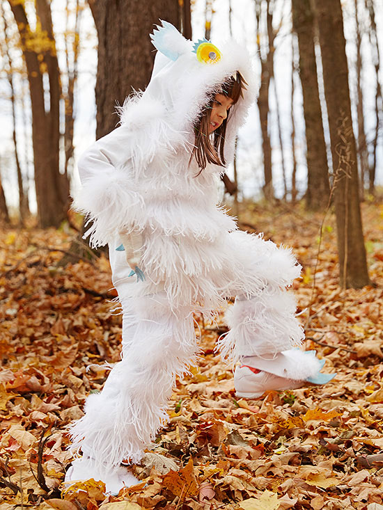 Snow monster costume
